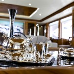 "Dressing the Boat Show UAE-based Aquaria 'The Yacht Experts"" play leading role in yacht sales as interior decorators at DIBS 2014"